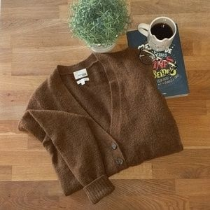Wilfred Free women's brown sweater. Size M